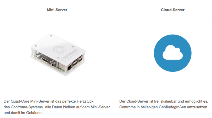 Mini-Server, Cloud-Server