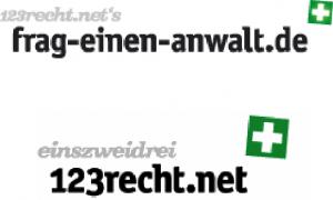 Logo fragen einen Anwalt